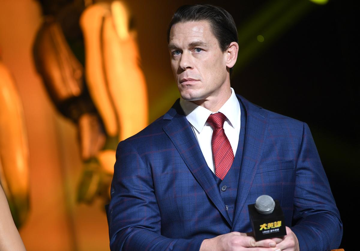 John Cena attends Paramount Pictures' Beijing press conference for 'Bumblebee'