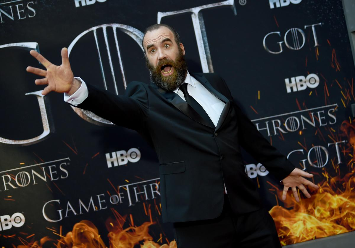 """Rory McCann attends the """"Game Of Thrones"""" Season 8 Premiere"""
