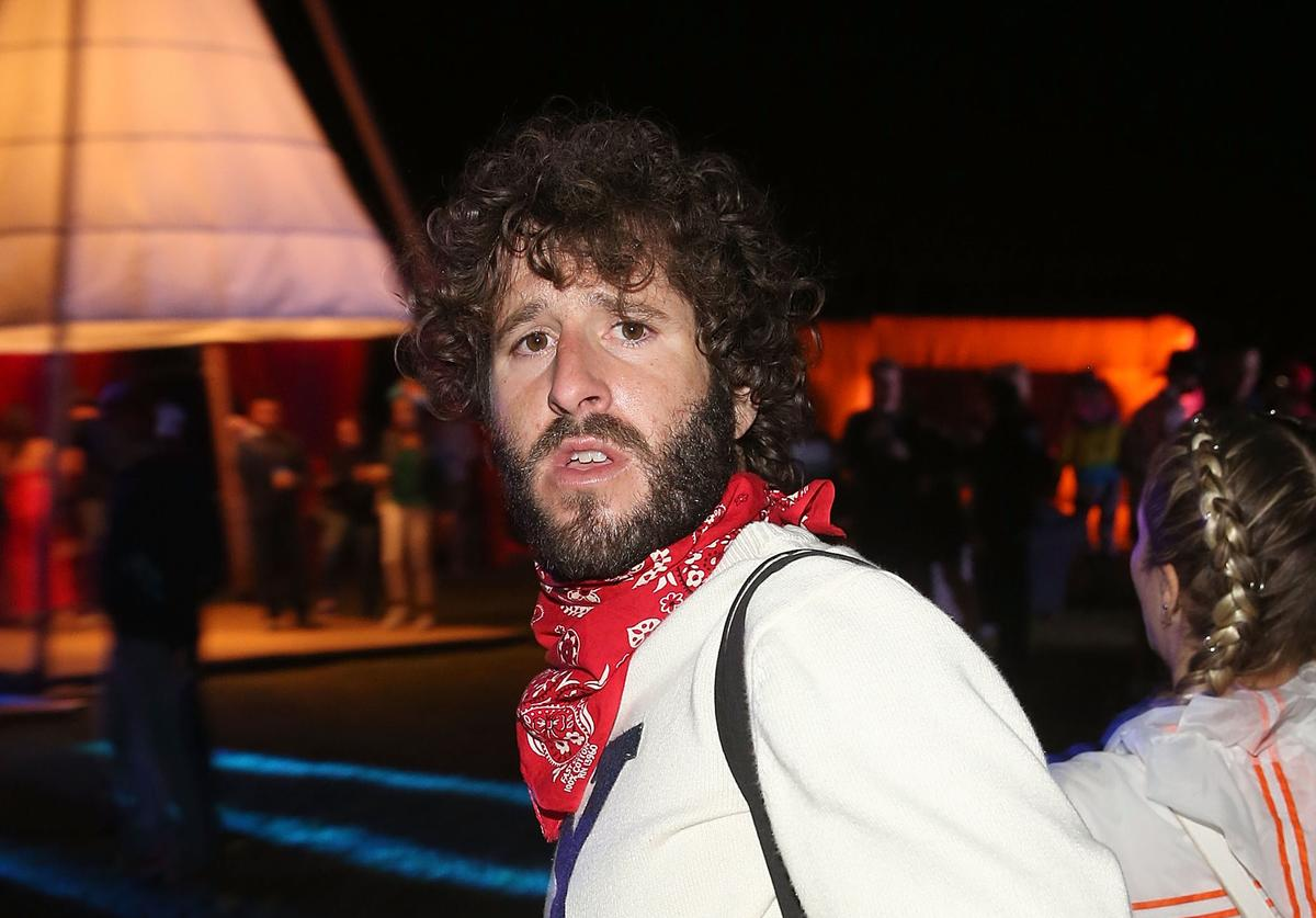 Lil Dicky attends Cash App's Friends Keep Secrets on April 14, 2018 in Indio, California.
