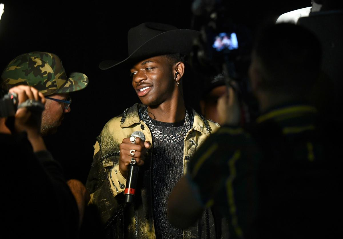 Singer Lil Nas X attends Day 3 of the Stagecoach Music Festival on April 28, 2019 in Indio, California