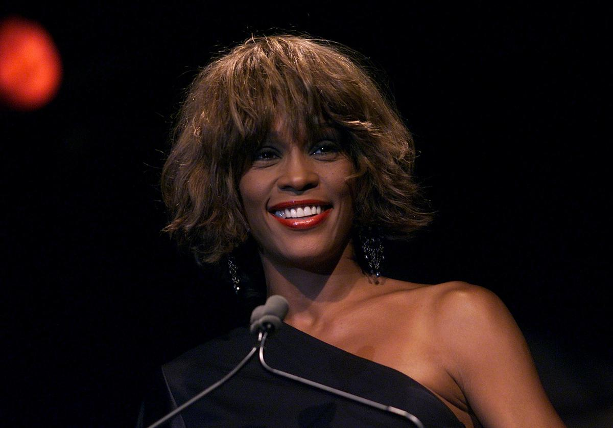 Special guest Whitney Houston at the Songwriters Hall of Fame 32nd Annual Awards at The Sheraton New York Hotel