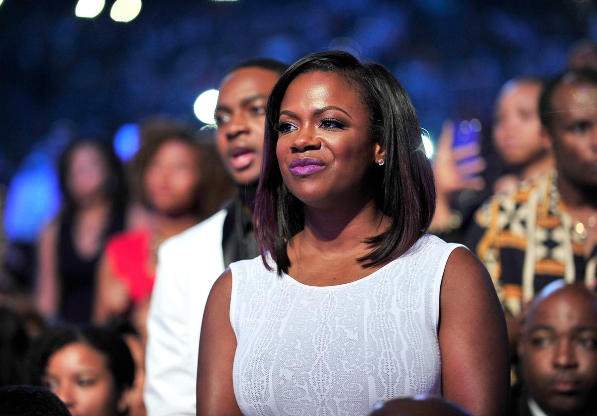 TV personality Kandi Burruss attends the 2014 Ford Neighborhood Awards Hosted By Steve Harvey