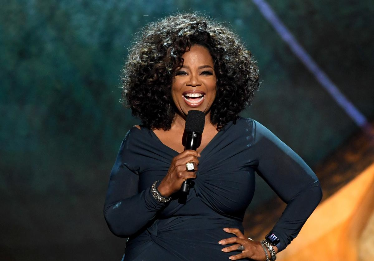 Oprah Winfrey appears onstage at Q85: A Musical Celebration for Quincy Jones
