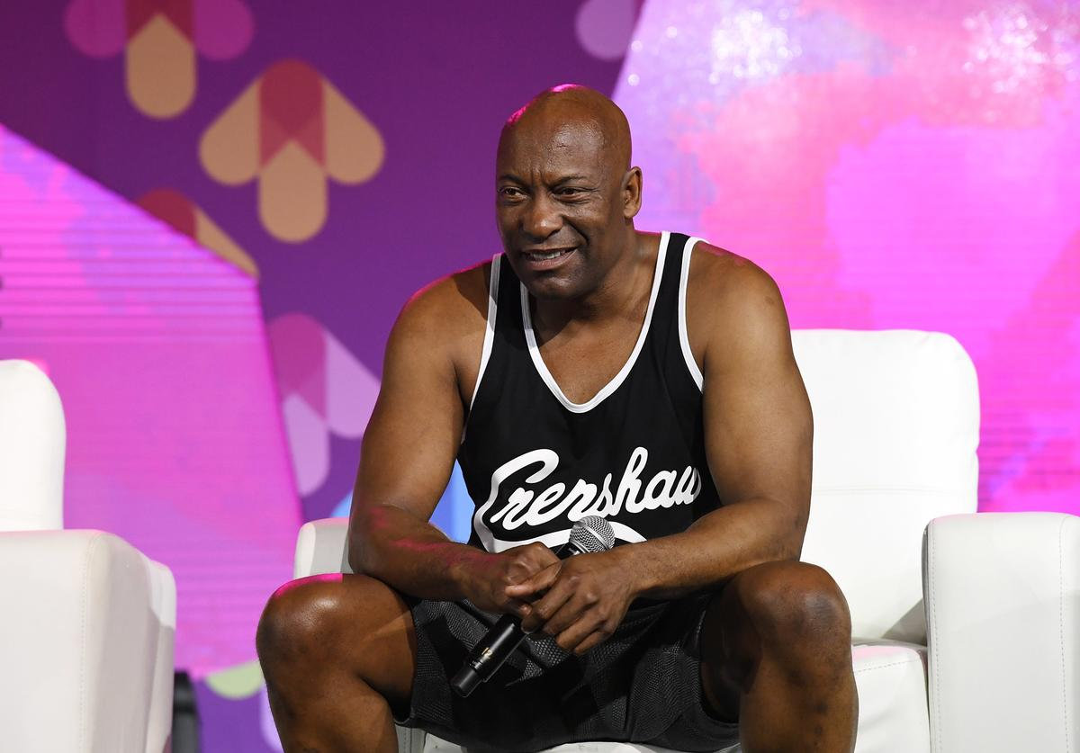 John Singleton speaks onstage at the 2017 ESSENCE Festival presented by Coca-Cola at Ernest N. Morial Convention Center on July 1, 2017 in New Orleans, Louisiana