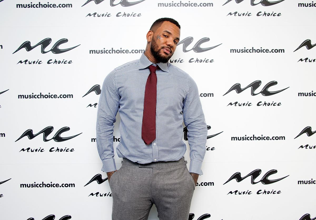 The Game visits Music Choice on September 23, 2015 in New York City