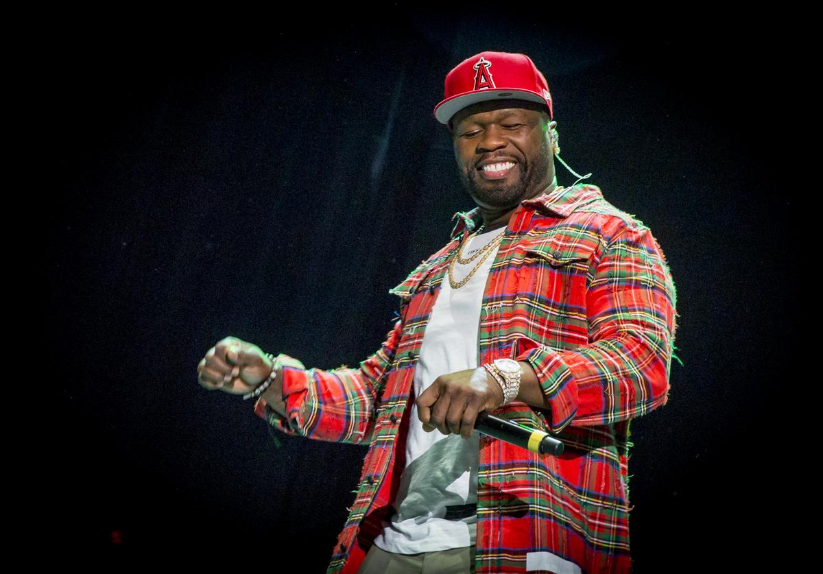 50 Cent performs on Day 3 of the RBC Bluesfest on July 8, 2017 in Ottawa, Canada