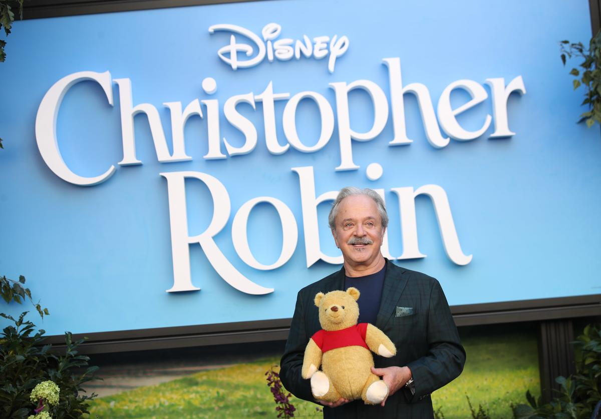 Jim Cummings attends the European Premiere of 'Christopher Robin' at BFI Southbank on August 5, 2018 in London, England.
