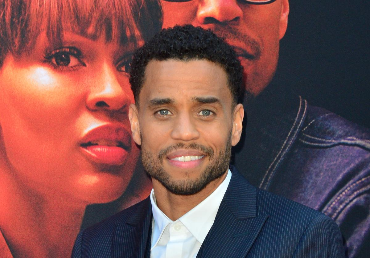 Michael Ealy arrives at the Premiere of 'The Intruder' at ArcLight Hollywood