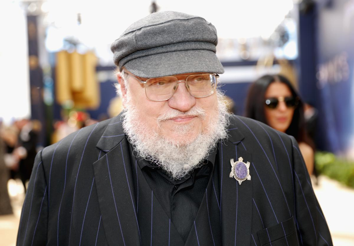 Writer George R. R. Martin attends the 70th Annual Primetime Emmy Awards at Microsoft Theater on September 17, 2018 in Los Angeles, California.