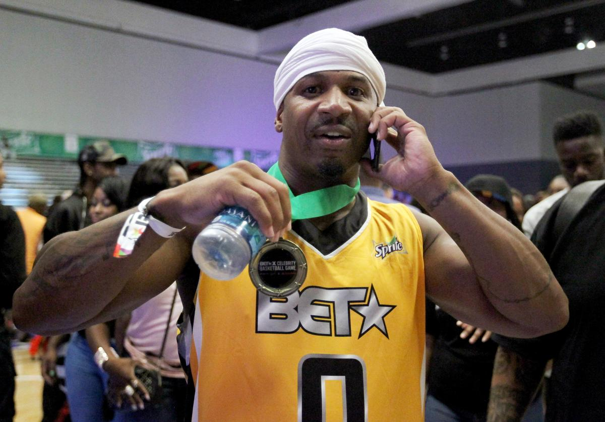 Stevie J at the Celebrity Basketball Game, presented by Sprite and State Farm, during the 2017 BET Experience