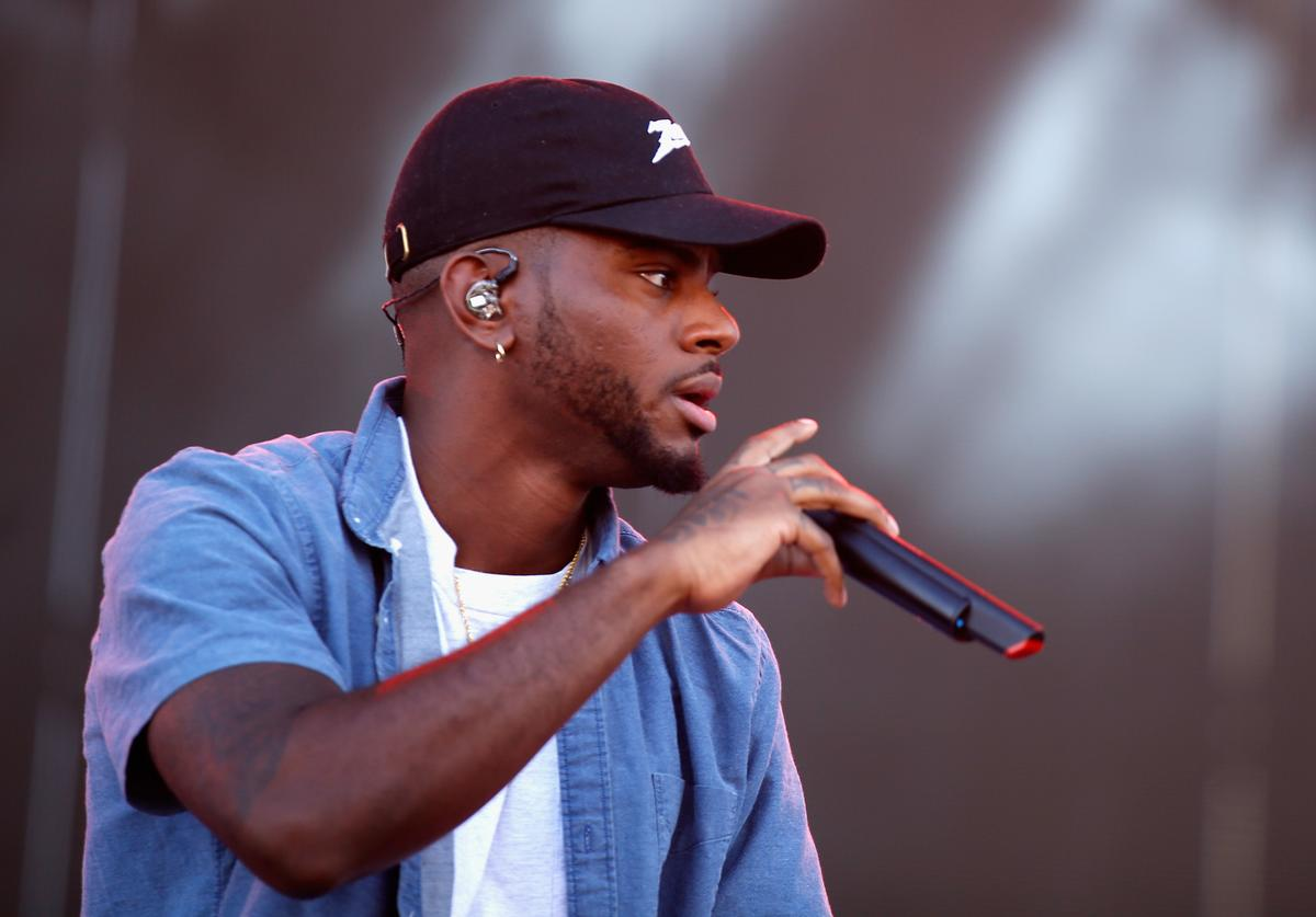 Singer-songwriter Bryson Tiller performs onstage during the 2016 Daytime Village at the iHeartRadio Music Festival at the Las Vegas Village on September 24, 2016 in Las Vegas, Nevada.