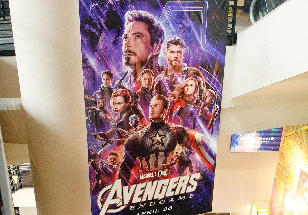"""General atmosphere during the IMAX private screening for the movie: """"Avengers: Endgame"""""""