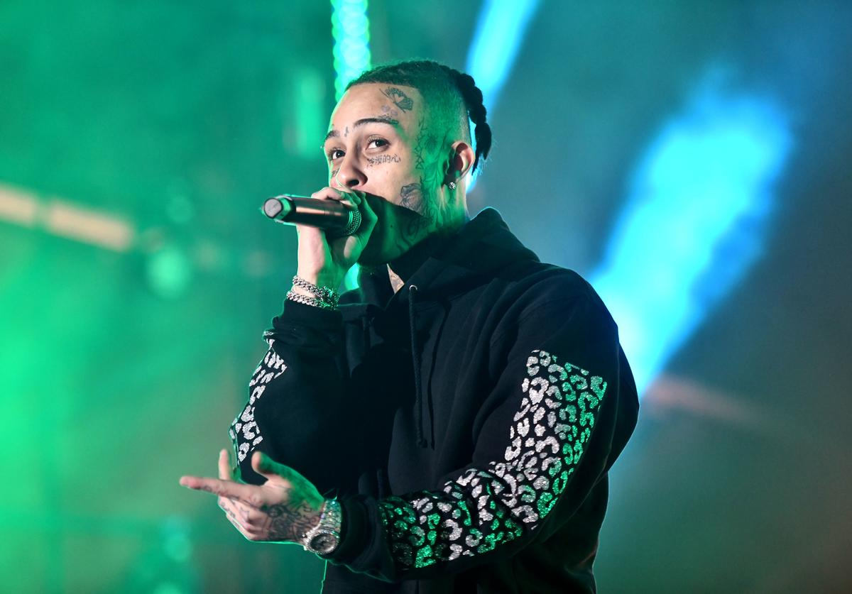 Lil Skies performs onstage during day 2 of Rolling Loud Festival at Banc of California Stadium on December 15, 2018 in Los Angeles, California
