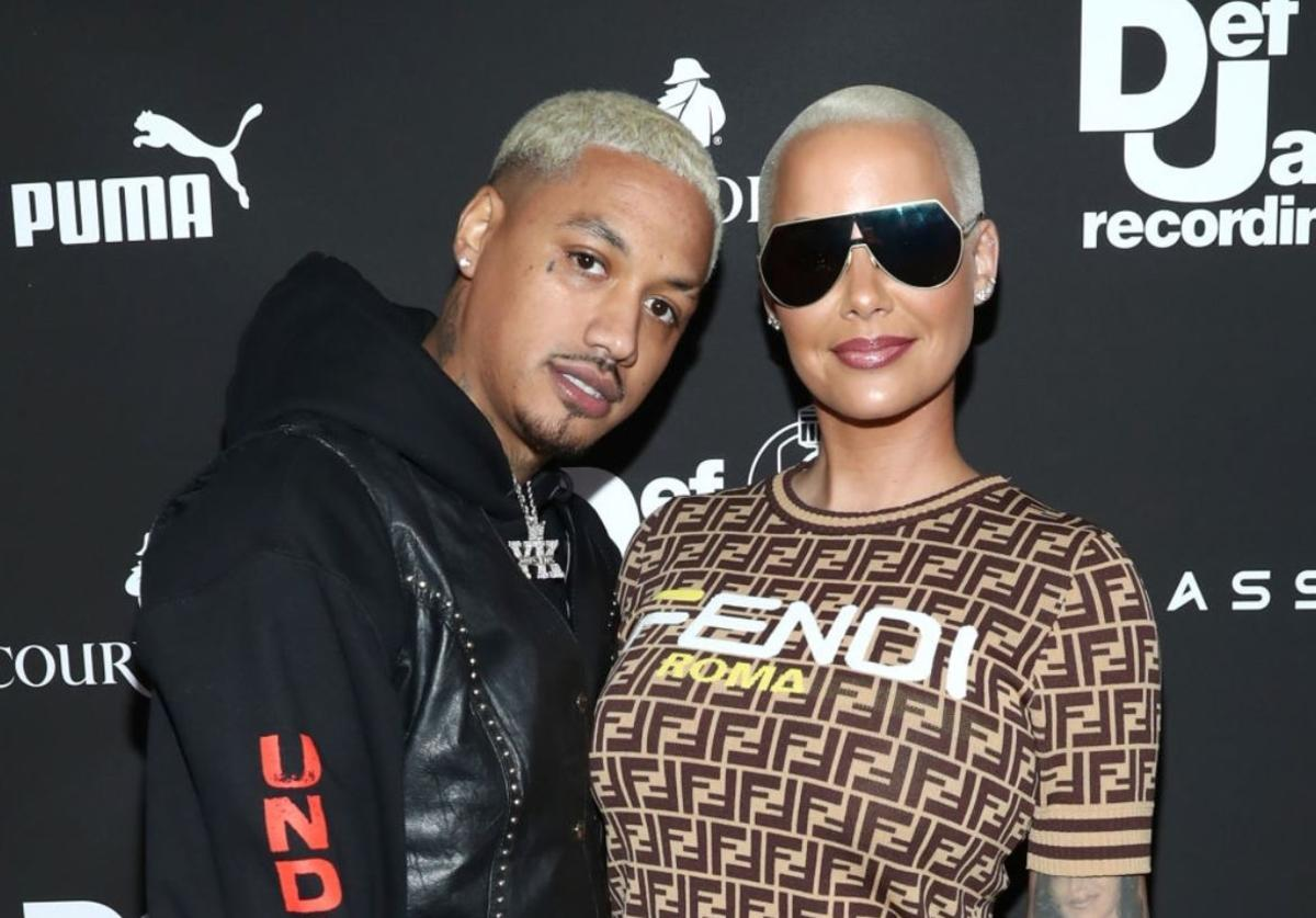 "Alexander ""AE"" Edwards, Amber Rose"