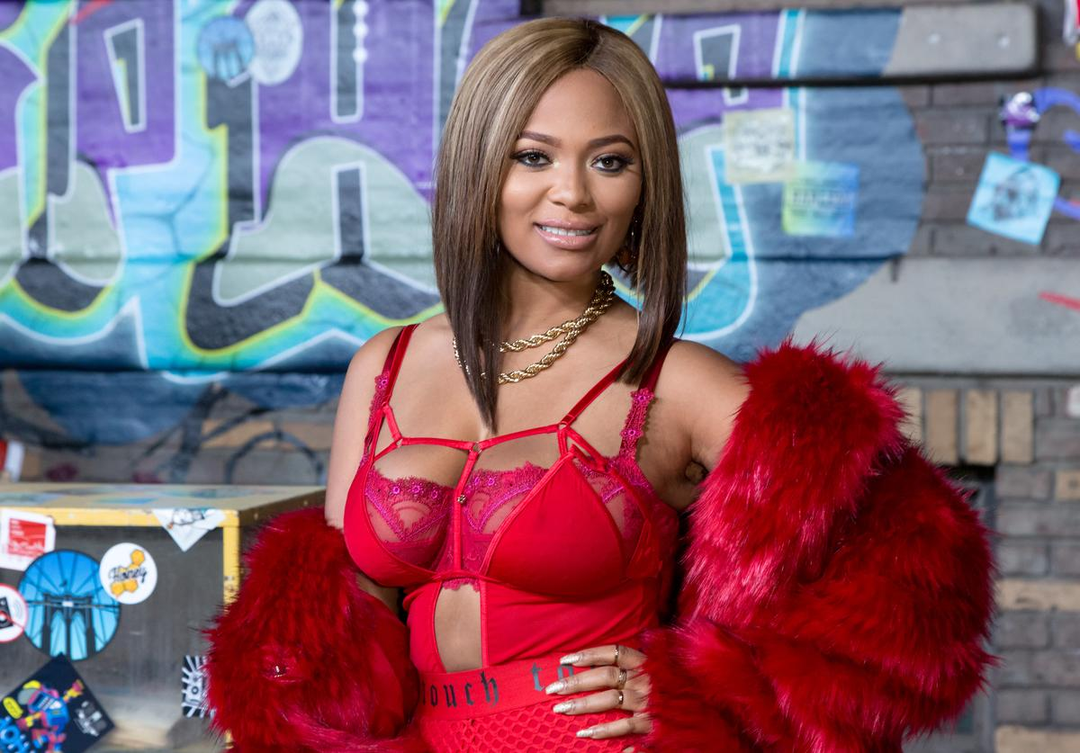 Teairra Mari arrives for VH1's Hip Hop Honors: The 90's Game Changers at Paramount Studios on September 17, 2017 in Hollywood, California