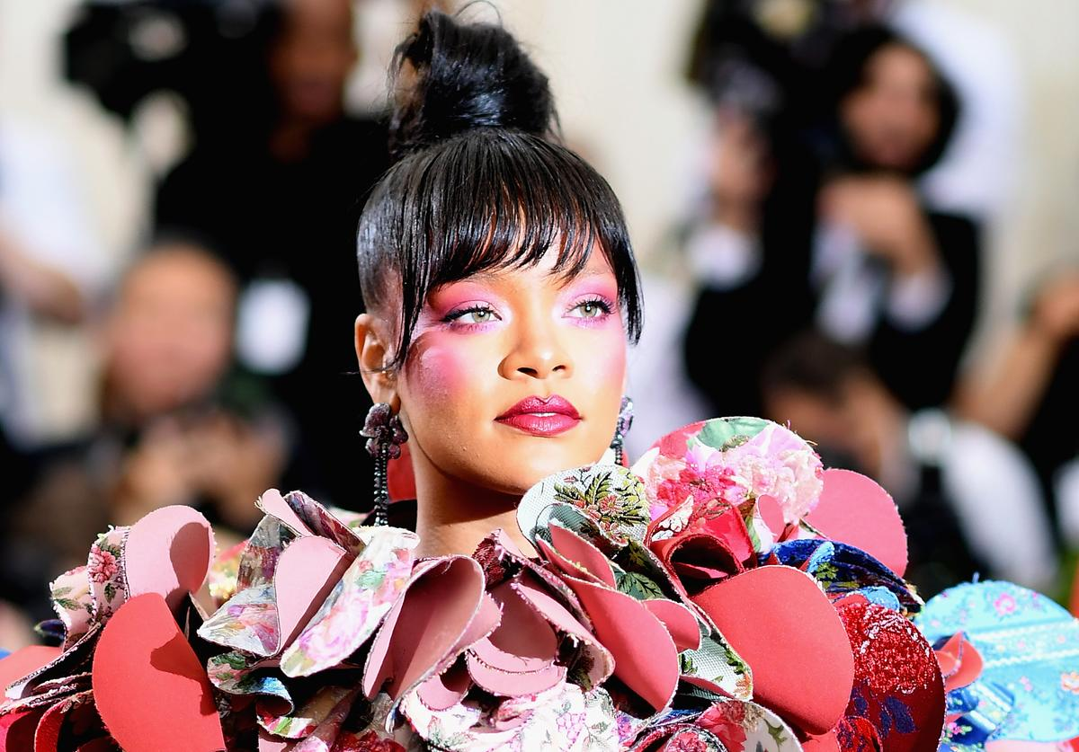 Rihanna attends the 'Rei Kawakubo/Comme des Garcons: Art Of The In-Between' Costume Institute Gala