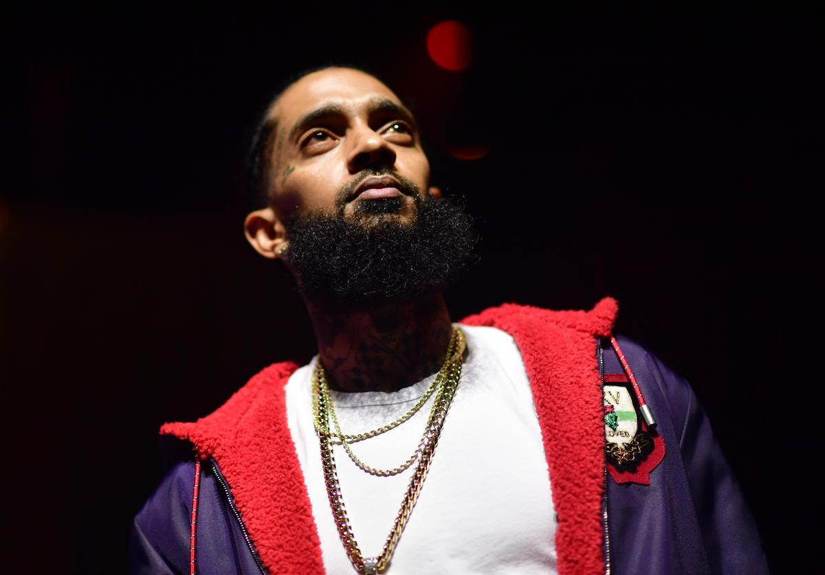 Nipsey Hussle attends A Craft Syndicate Music Collaboration Unveiling Event at Opera Atlanta on December 10, 2018 in Atlanta, Georgia