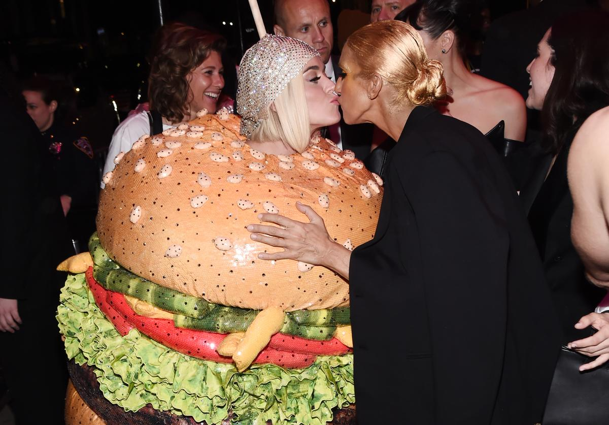Katy Perry and Celine Dion attend the 2019 Met Gala Boom Boom Afterparty at The Standard hotel on May 06, 2019 in New York City.