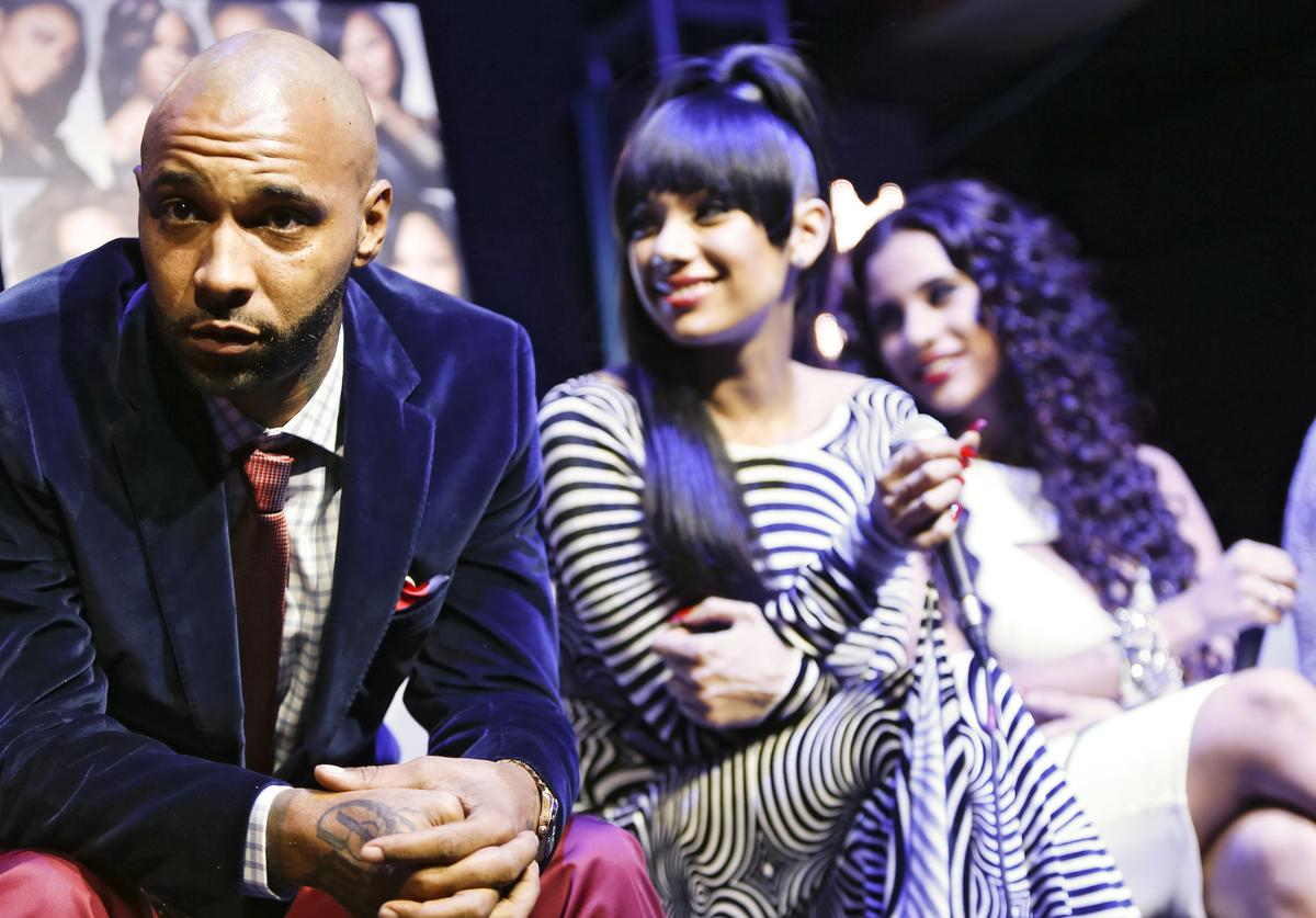 "oe Budden appears at the VH1 ""Love & Hip Hop"" Season 4"