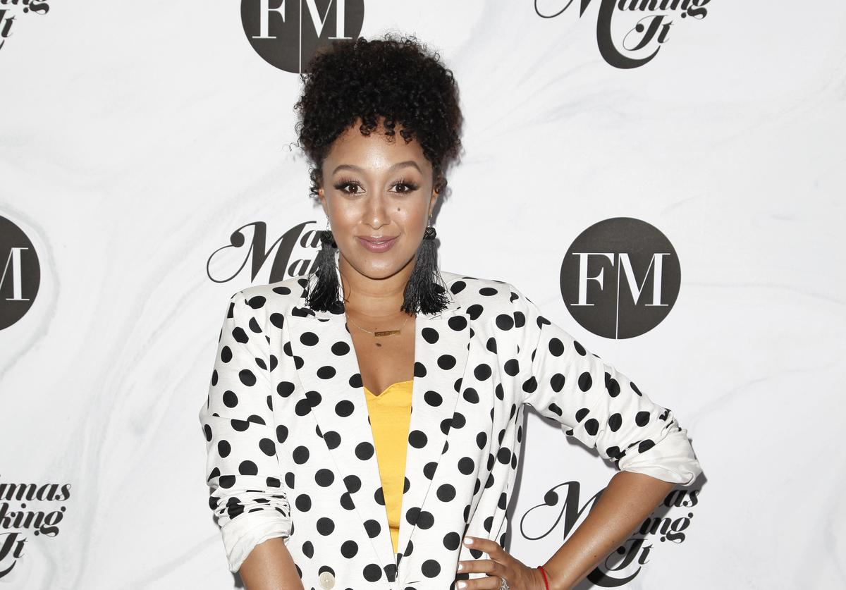 Tamera Mowry attends the 2018 Mamas Making It Summit at The Line Hotel