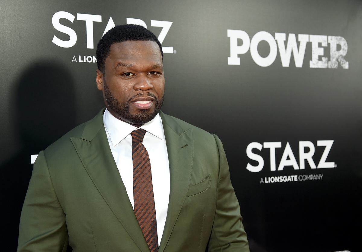 """Curtis """"50 cent"""" Jackson attends the Starz """"Power"""" The Fifth Season NYC Red Carpet"""
