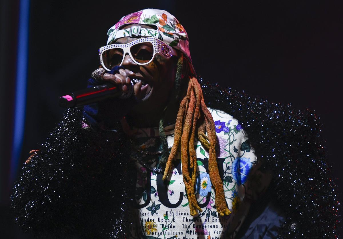 Lil Wayne performs during X Games Aspen 2019 on January 25, 2019 in Aspen, Colorado