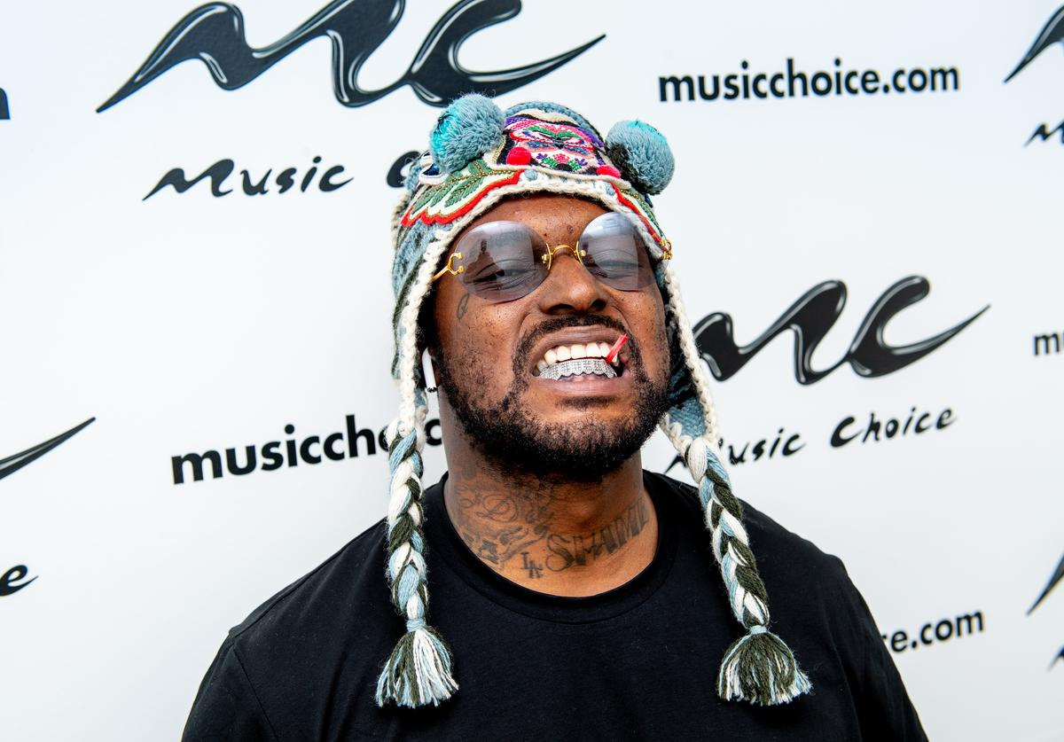 Schoolboy Q Visits Music Choice on April 23, 2019 in New York City.