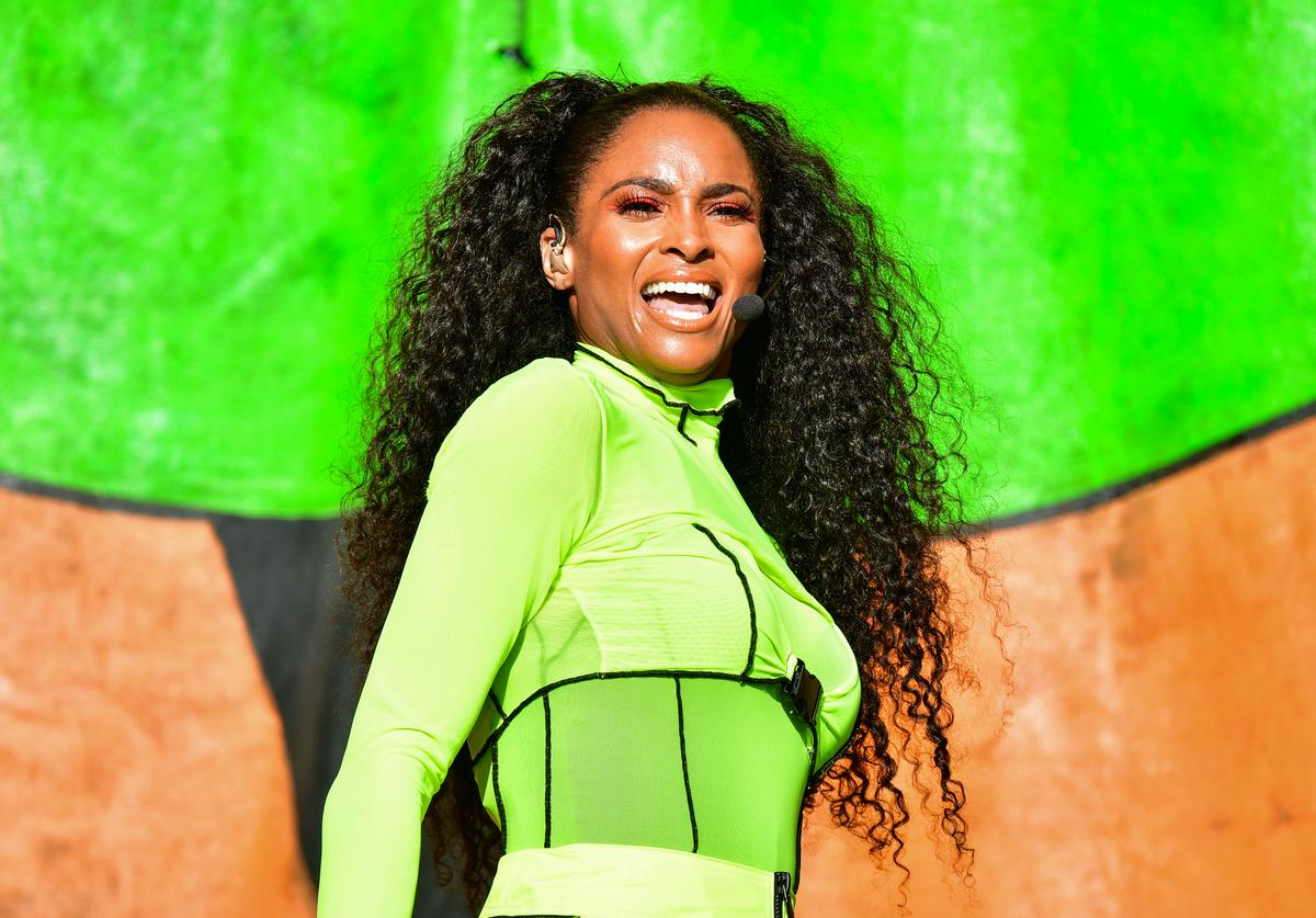 Ciara performs during the 2019 New Orleans Jazz & Heritage Festival 50th Anniversary at Fair Grounds Race Course on April 25, 2019 in New Orleans, Louisiana