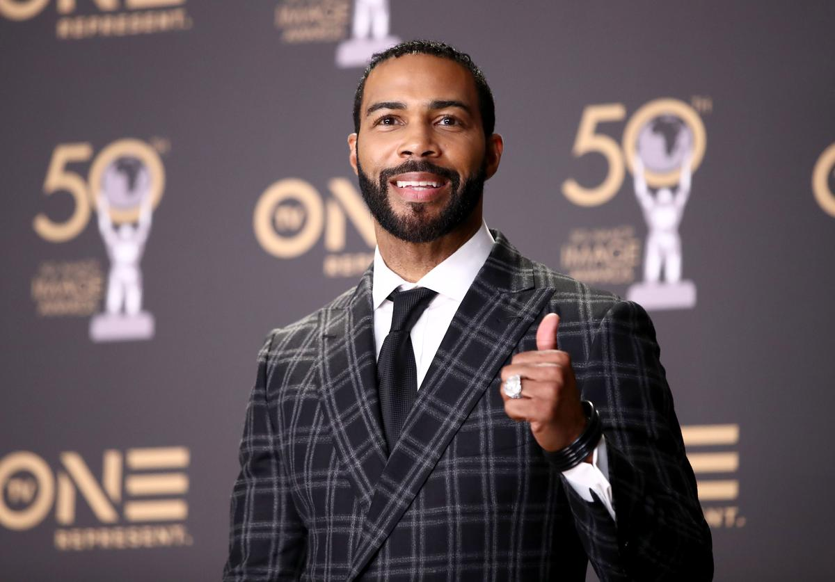 Omari Hardwick, winner of Outstanding Actor in a Drama Series, attends the 50th NAACP Image Awards at Dolby Theatre on March 30, 2019 in Hollywood, California