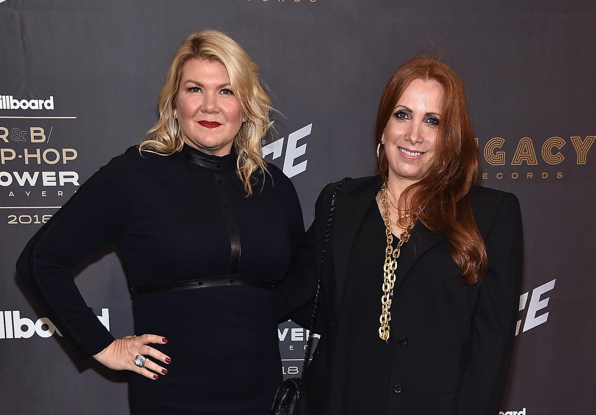 Marcie Allen (L) and Cara Lewis attend the Billboard 2018 R&B Hip-Hop Power Players event at Legacy Records on September 27, 2018 in New York City.