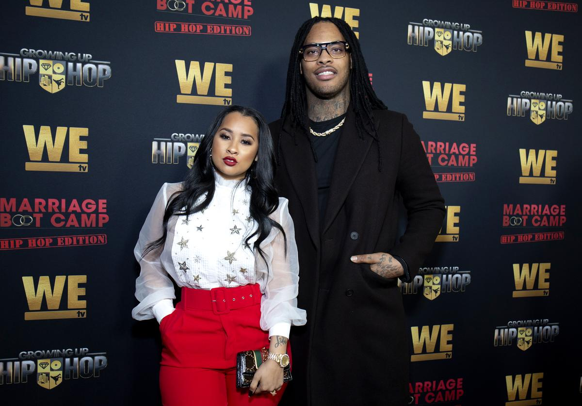 Tammy Rivera and Waka Flocka attend the exclusive premiere for 'WE TV hosts Hip Hop Thursday's at Nightingale on January 09, 2019 in West Hollywood, California