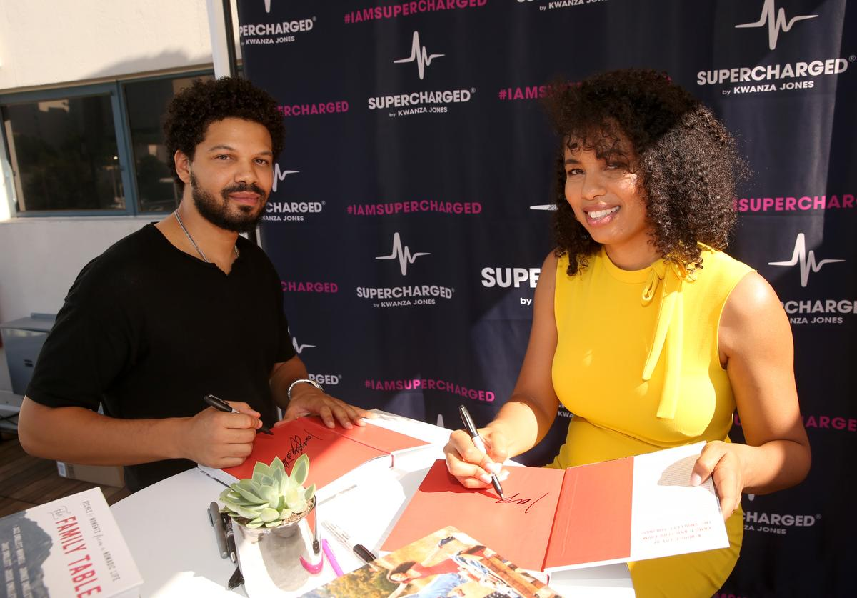 Chef Jake Smollett and Writer Jazz Smollett-Warwell attend the SUPERCHARGED
