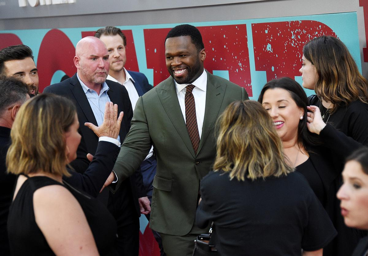 """Curtis """"50 Cent"""" Jackson attends the """"POWER"""" Season 5"""