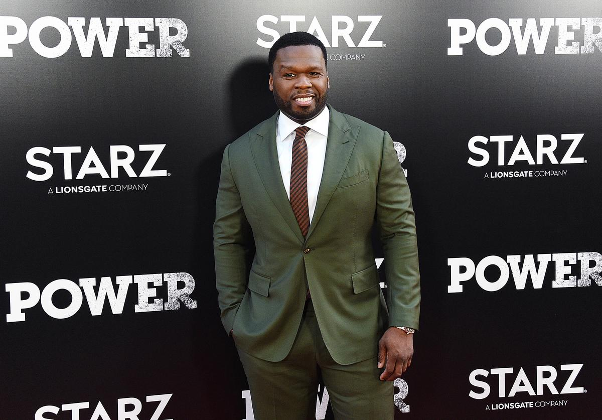 "Curtis ""50 Cent"" Jackson attends the ""POWER"" Season 5 Premiere at Radio City Music Hall on June 28, 2018 in New York City."