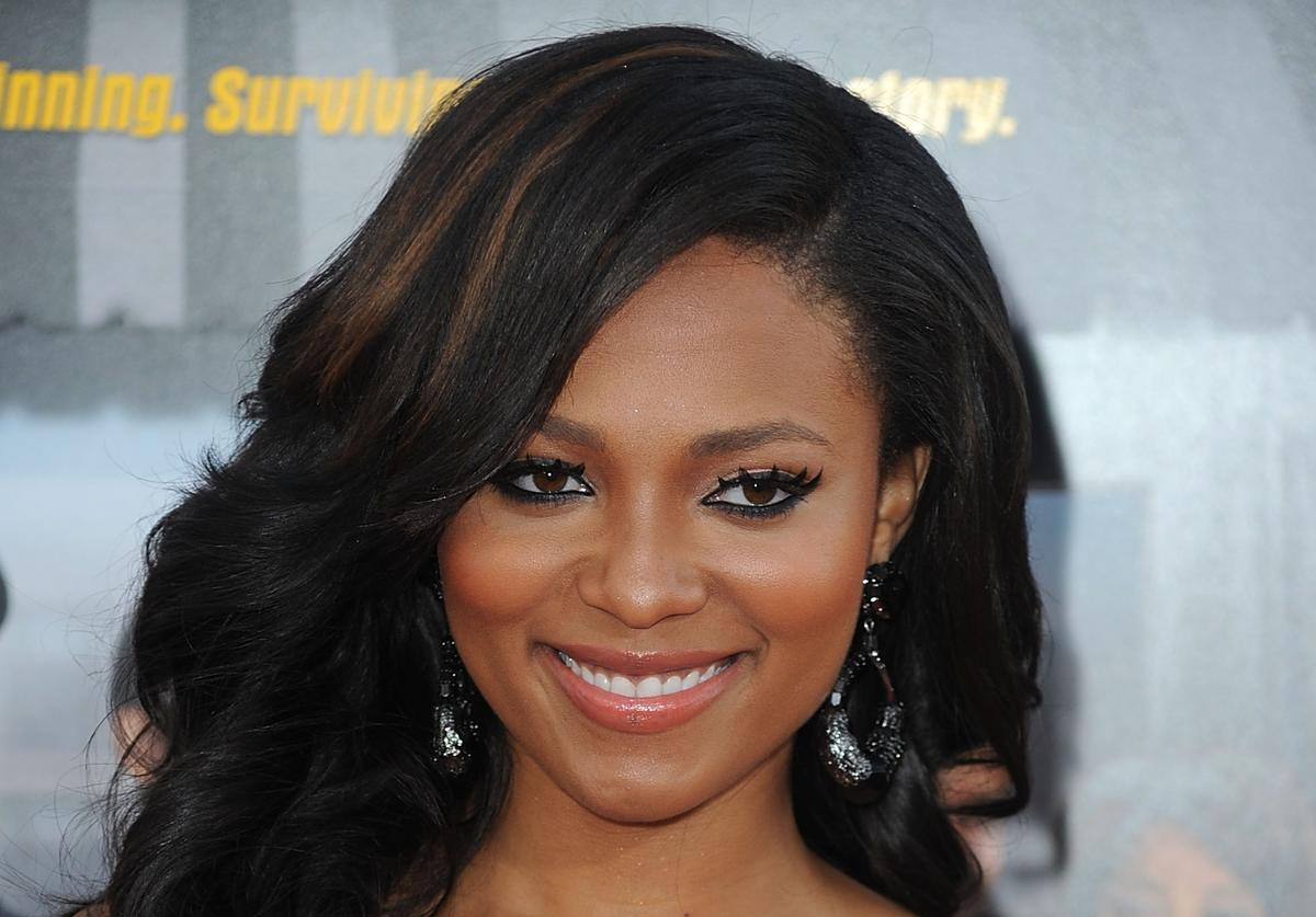 "Actress Teairra Mari attends the premiere Of Warner Bros. ""Lottery Ticket"" at Grauman's Chinese Theatre"