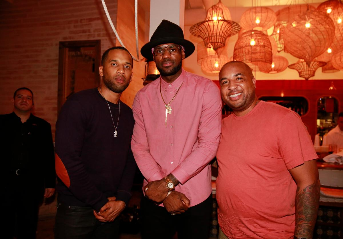 LeBron James & Maverick Carter