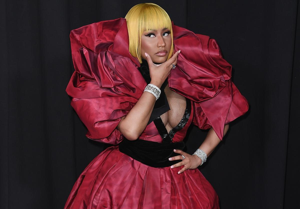Nicki Minaj in Marc Jacobs