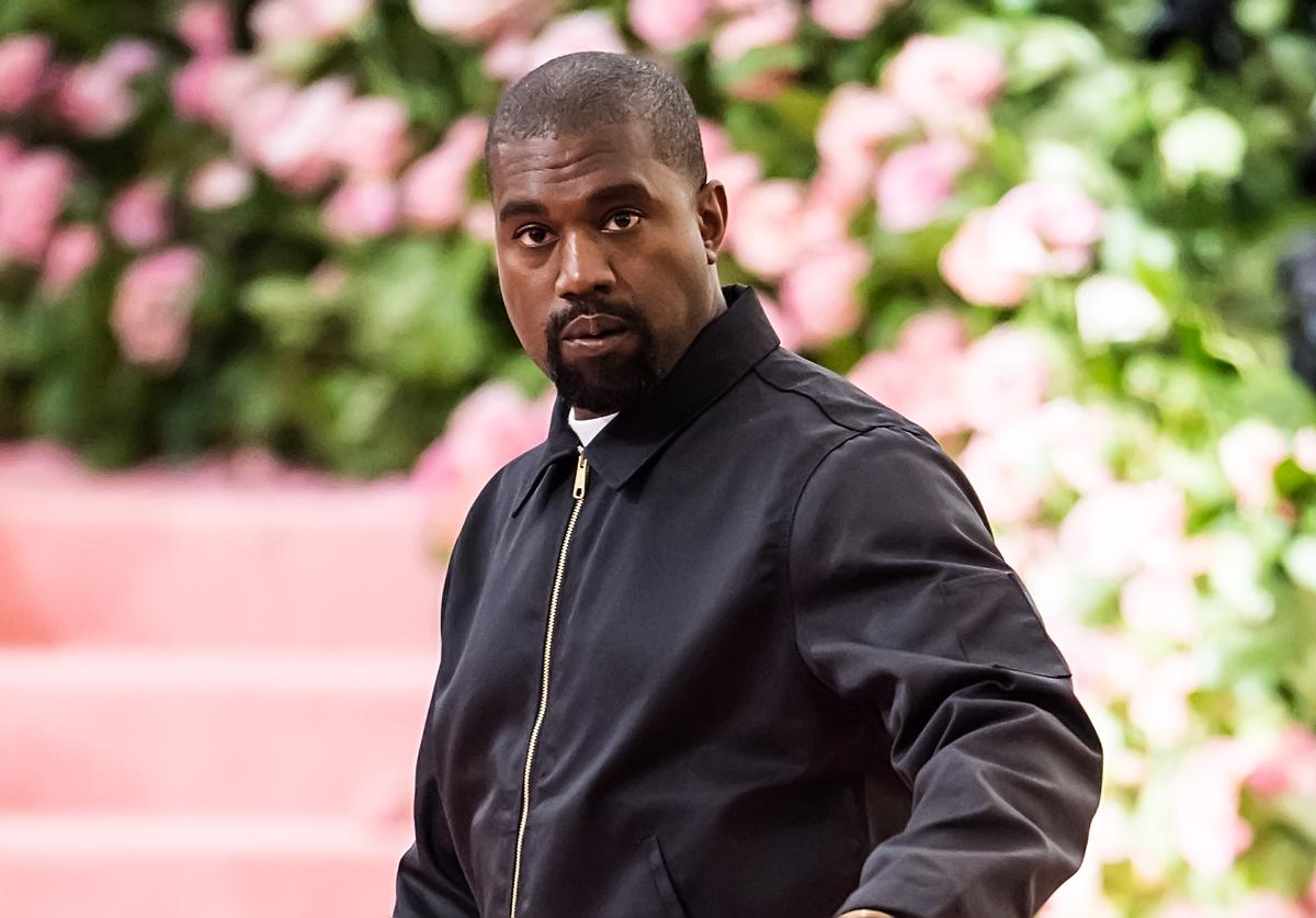 Kanye West is seen arriving to the 2019 Met Gala Celebrating Camp: Notes on Fashion at The Metropolitan Museum of Art on May 6, 2019 in New York City
