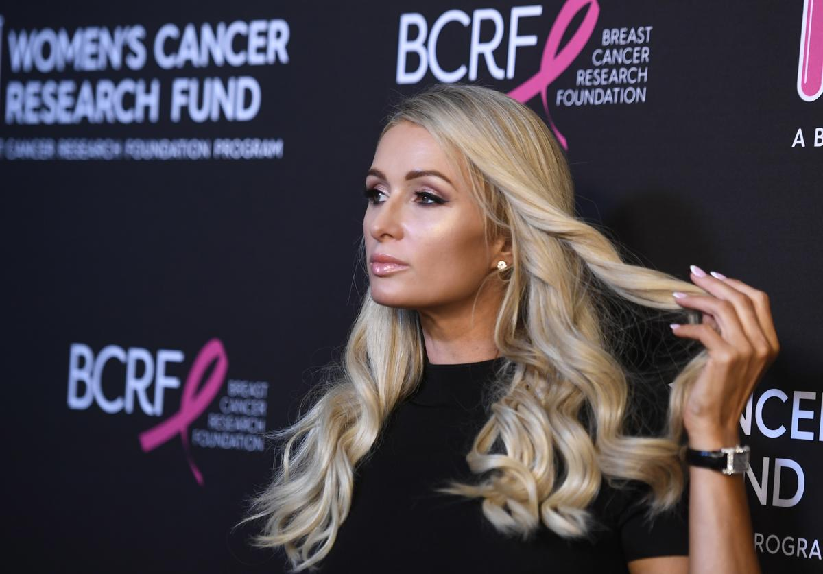 Paris Hilton attends The Women's Cancer Research Fund's An Unforgettable Evening Benefit Gala