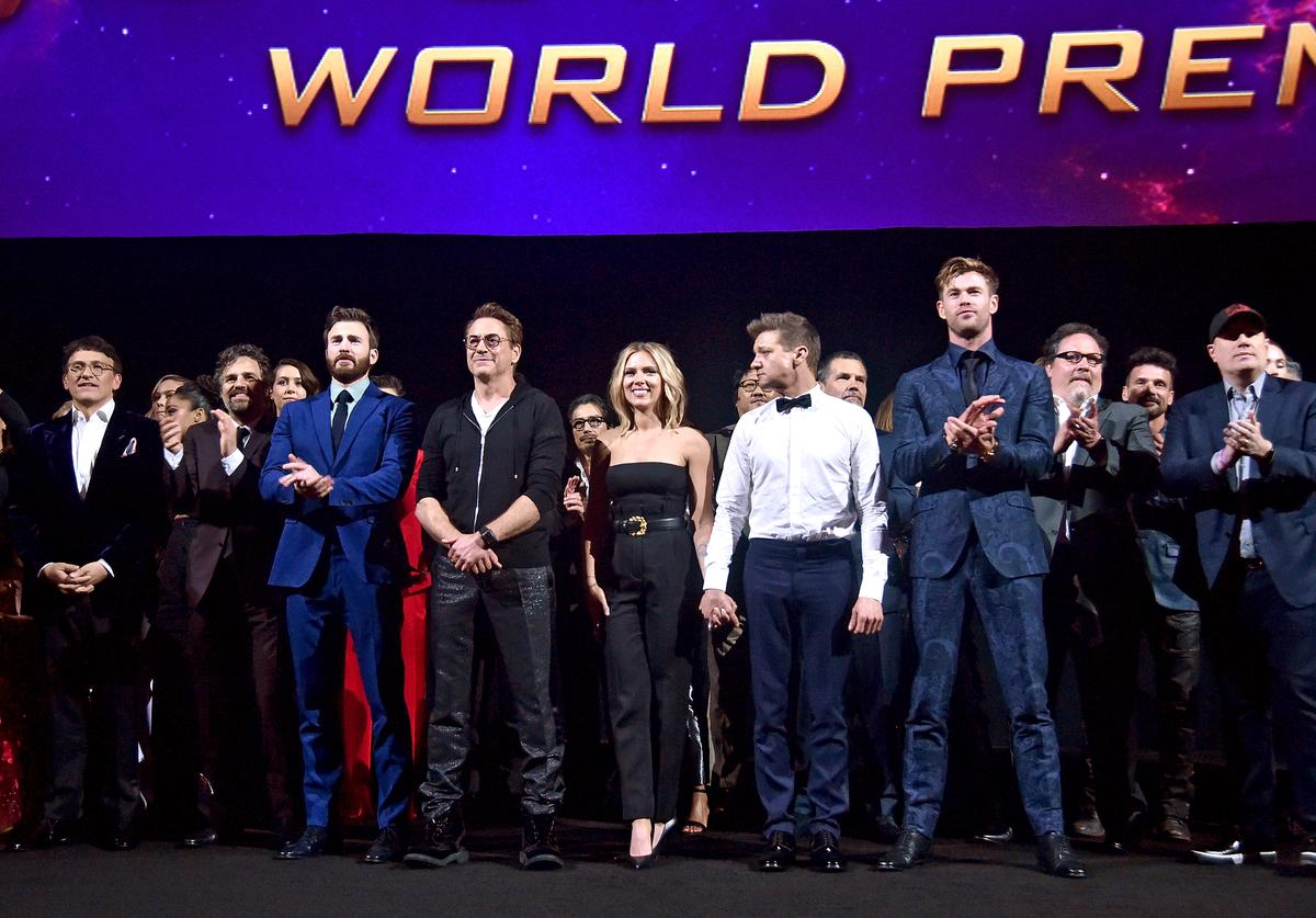 "Los Angeles World Premiere of Marvel Studios' ""Avengers: Endgame"" at the Los Angeles Convention Center"