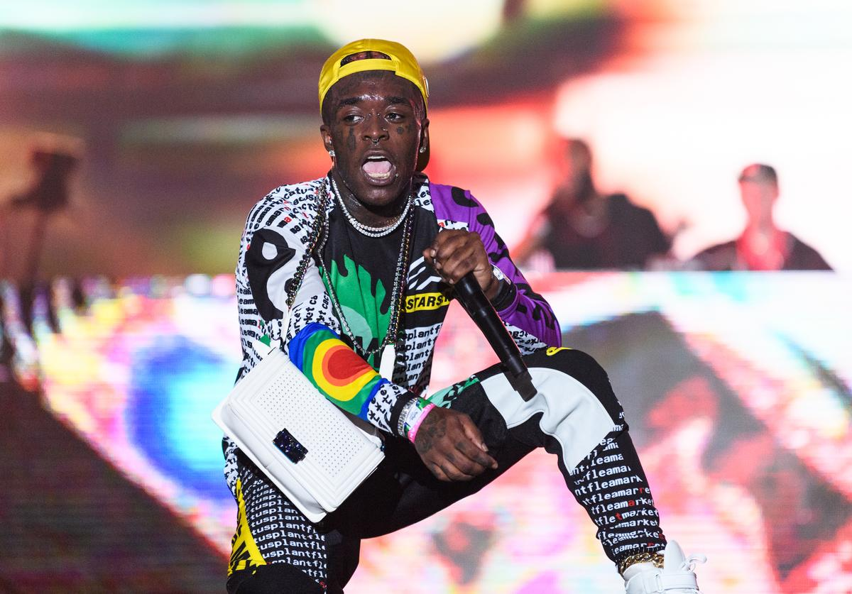 Symere Woods known by his stage name Lil Uzi Vert performs during day three of Rolling Loud at Hard Rock Stadium on May 12, 2019 in Miami Gardens, FL.