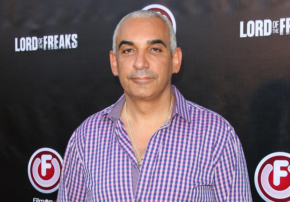 """Director Alki David attends the """"Lord Of The Freaks"""" premiere at the Egyptian Theatre on June 29, 2015 in Hollywood, California"""