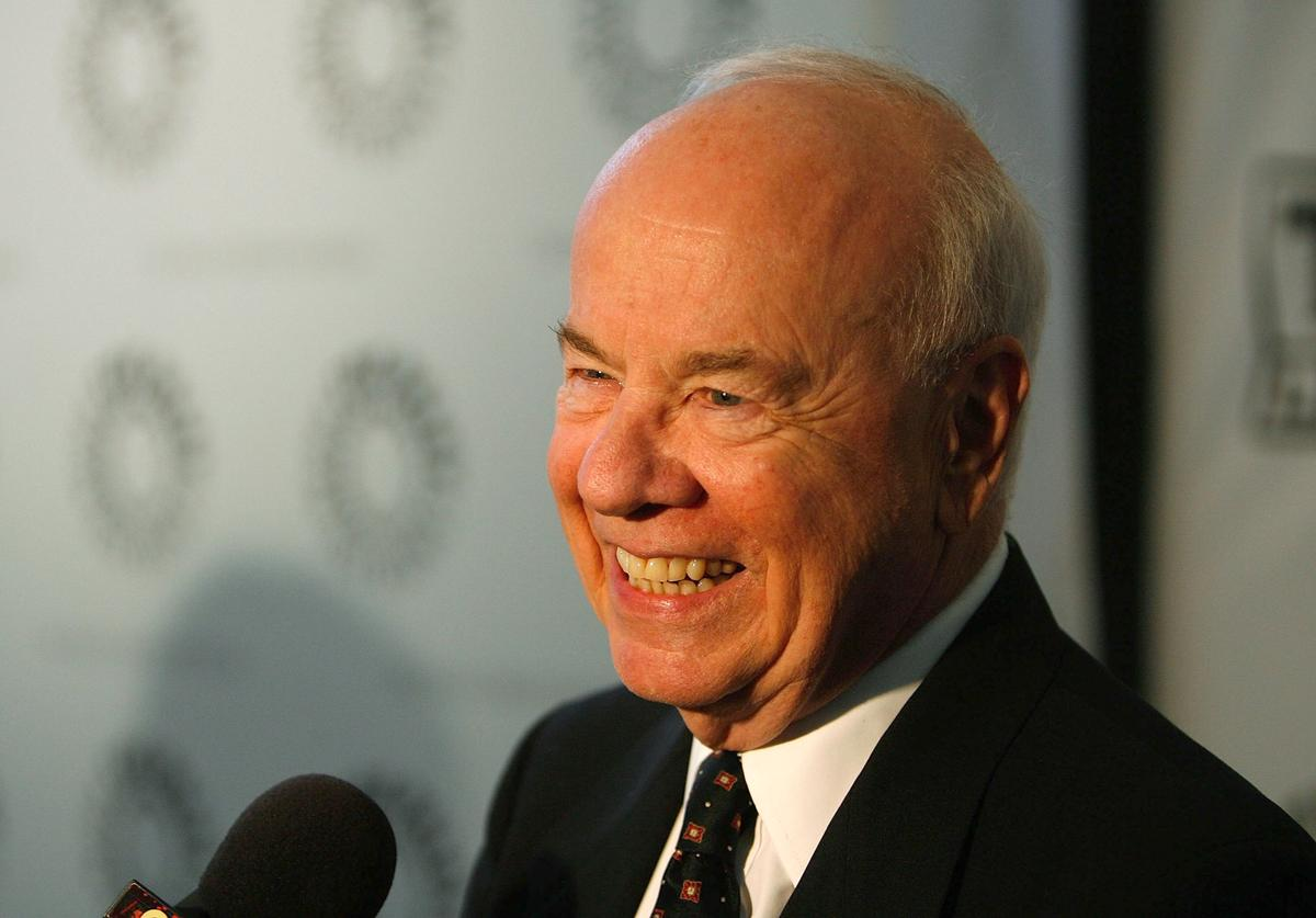"""Actor Tim Conway arrives at the Paley Center for Media and TV Land salute of """"The Bob Newhart Show"""" at the Paley Center for Media on September 5, 2007 in Los Angeles, California."""