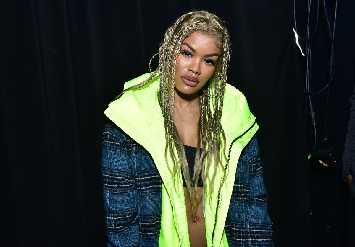 Teyana Taylor attends 'Diesel x Boiler Room: Another Basel Event' during Art Basel