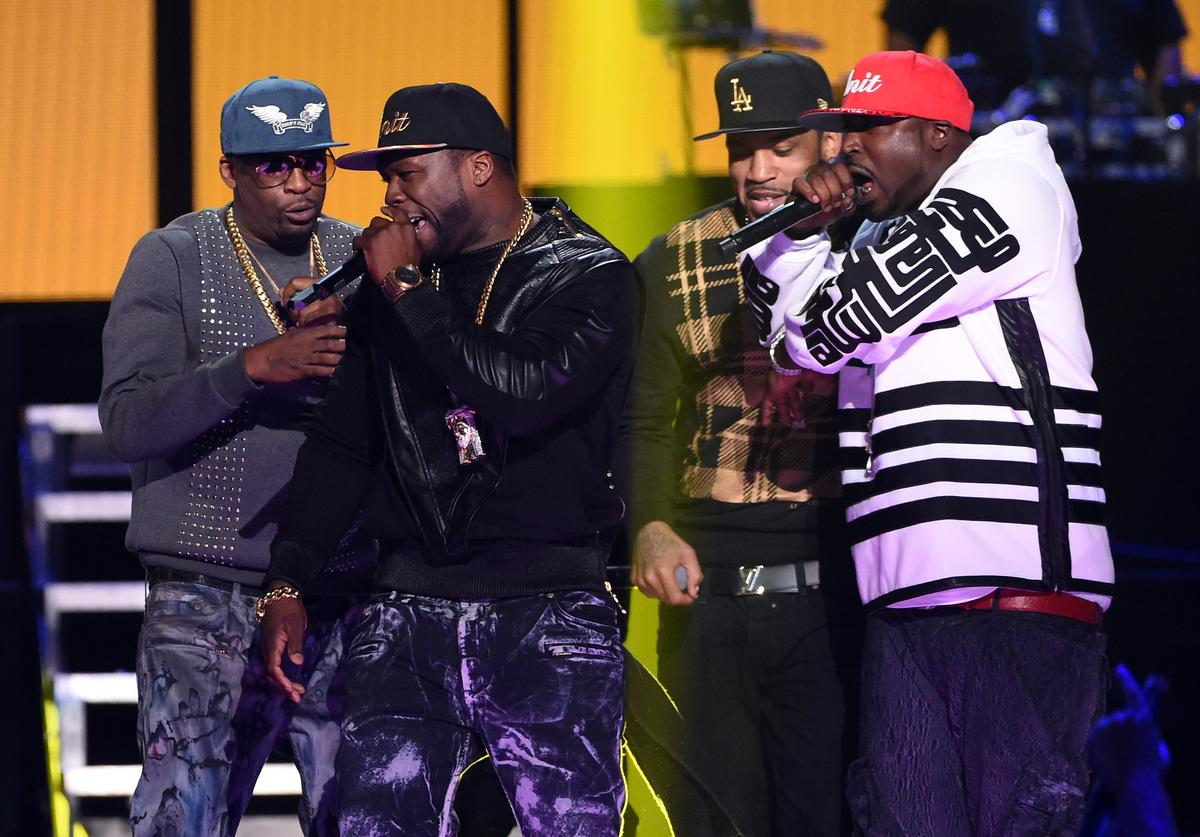 G-Unit reunited on stage