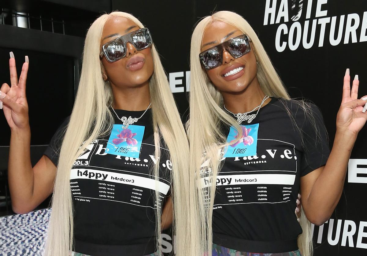 The Clermont Twins attend Hypefest hosted by DIESEL at Brooklyn Navy