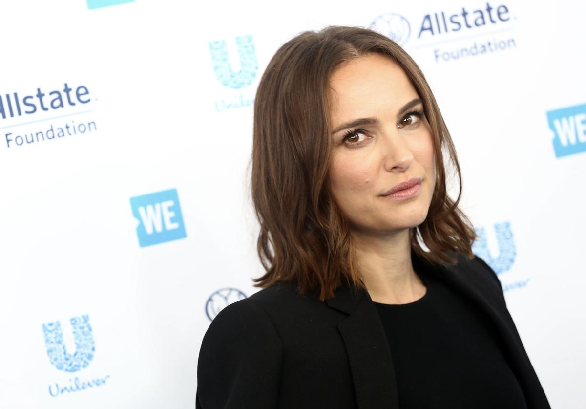 Natalie Portman attends WE Day California