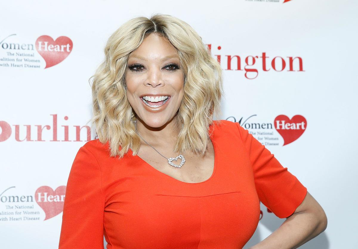 Wendy Williams attends #HealthyHeartSelfie Challenge at Initiative New York Headquarters on February 1, 2016 in New York City