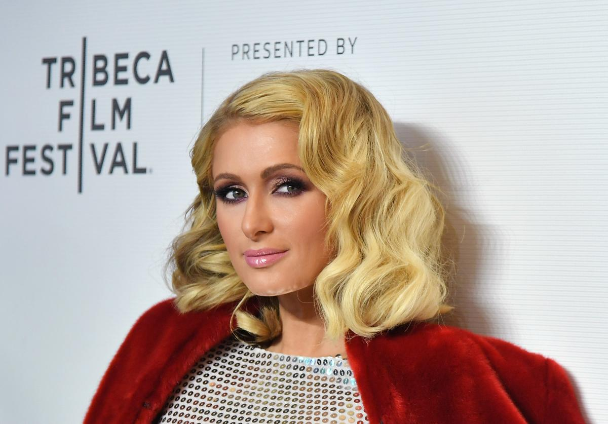 """Paris Hilton attends the screening of """"The American Meme"""" during the 2018 Tribeca Film Festival at Spring Studios on April 27, 2018 in New York City."""
