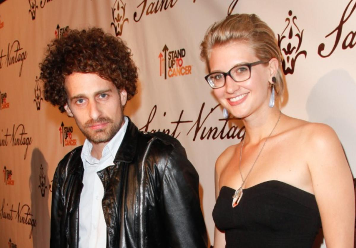 Actor Isaac Kappy (L) attends the Saint Vintage Love Tour benefiting Stand Up 2 Cancer at The Andaz on March 22, 2012 in West Hollywood, California.
